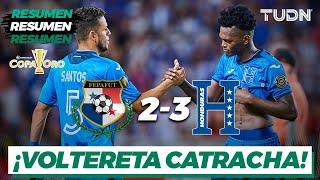 Resumen y goles | Panamá 2-3 Honduras | Copa Oro 2021 | Grupo D | TUDN