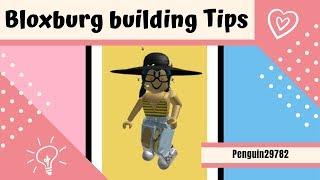 Bloxburg building tips + Shortcuts || Bloxburg Roblox