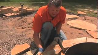 Stone Firepit Construction