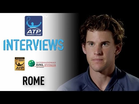 Interview: Thiem Reflects On First Masters 1000 Final Rome 2017