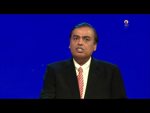 Reliance AGM 2017 - Jio Feature Phones Unveiled by Mr. Mukes