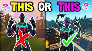 NITELITE SKIN VS LITESHOW SKIN - FORTNITE WHICH WOULD YOU BUY? - Before You Buy NEW SKINS! Season 4