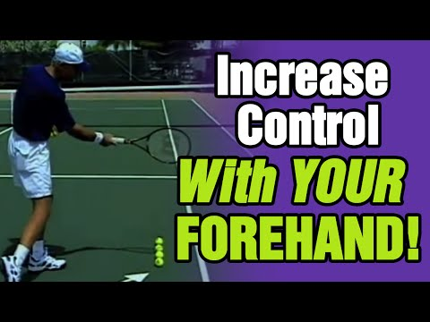 Tennis - How To Increase Control With Your Forehand | Tom Avery Tennis 239.592.5920