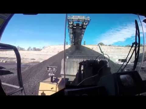 Loading Coal At Able Underground Mine In The Hunter Valley