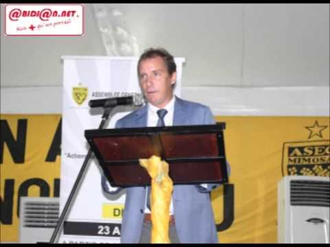 Audio/Assemblée générale mixte de l'Asec Mimosas