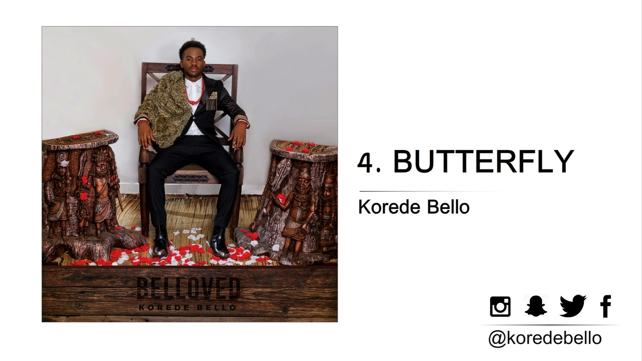korede bello butterfly