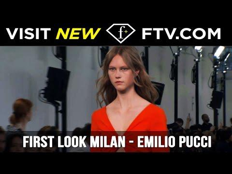 First Look Milan Full Report - Emilio Pucci | FashionTV