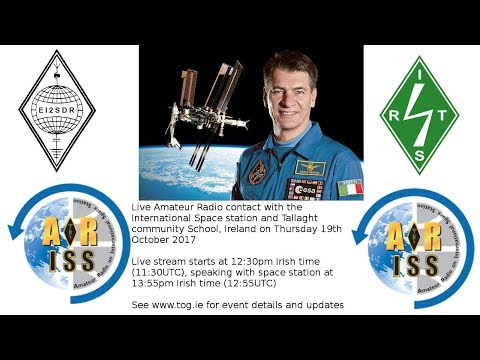 Amateur Radio contact with International Space Station and Tallaght Community School