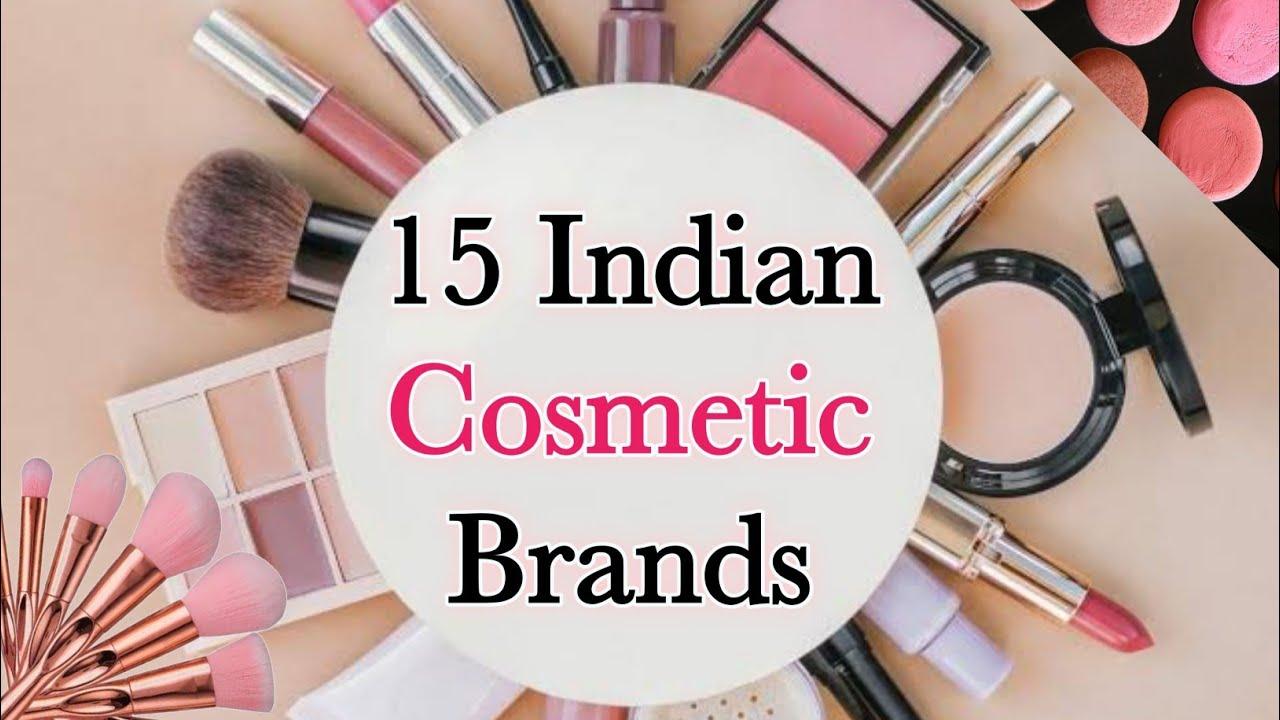 Top 20 Cosmetic Brands in India   Indian Makeup Brands   Indian ...