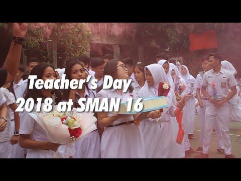 Hari Guru SMA Negeri 16 Jakarta