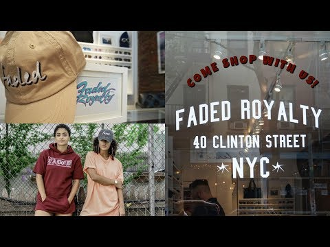 HANG WITH US: Shopping At Faded Royalty