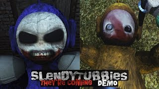 SOMETHING IS VERY WRONG HERE | SLENDYTUBBIES: THEY'RE COMING | FULL DEMO PLAYTHROUGH