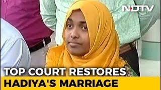 Supreme Court Restores Hadiya's Marriage To Shafin Jahan