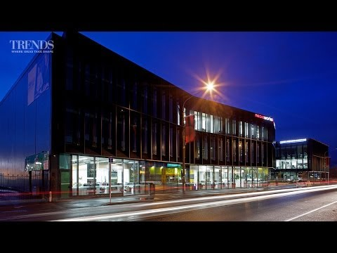 Contemporary Damage-resistant Office Buildings In Christchurch