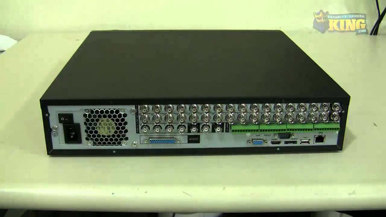 16 Channel Elite Series H.264 Realtime Security DVR Unboxing - DVR-EL016480 - YouTube