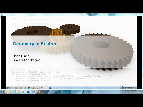 Fusion 360 Online Hackathon Session 6: Geometry in Fusion