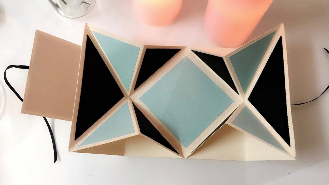مطوية جديدة رائعة جدا مطوية الأكورديون مطويات ٢٠١٨ Youtube Diy Crafts For Gifts Paper Flowers Diy Diy Cards