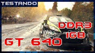 Testando - DiRT 3 - GT 640 1GB DDR3 - Core 2 Duo E6420