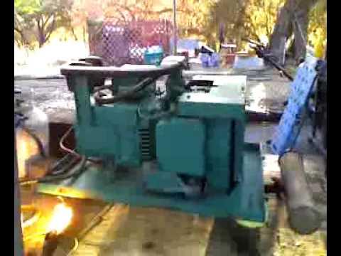1985 40 Onan Generator - YouTube