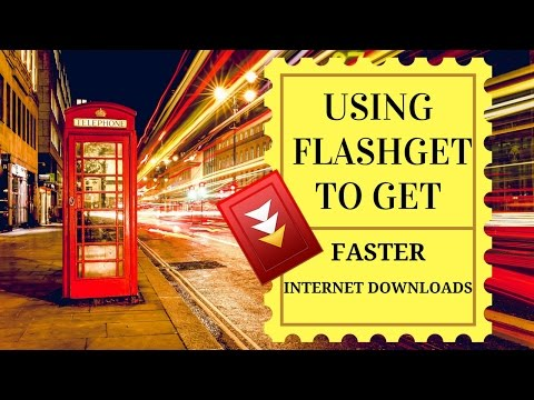 How to use Flashget to get faster internet downloads | video tutorial by TechyV