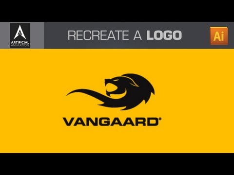 Adobe Illustrator Tutorial - Recreate any Logo Design