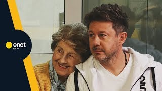 """Piaseczny z mamą o """"Starsza pani musi fiknąć"""": mówią, że jestem podobna do Ireny Santor    #OnetRANO"""