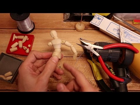 Convert a 3,5 bucks wood mannequin into a winning stop motion puppet