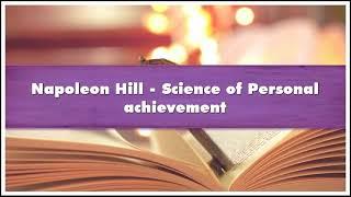 Napoleon Hill Science of Personal achievement Audiobook