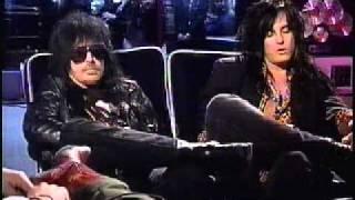 Nikki Sixx & Mick Mars Live Interview on Much Music, 1991-Part 1