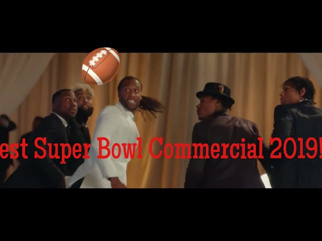 2019 Super Bowl  Commercial: NFL Legends Battle it Out!!