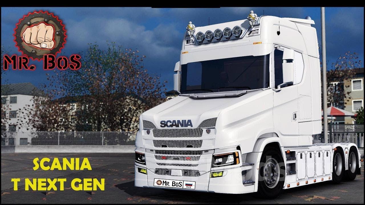 Euro truck simulator 2 1.32 3s моды