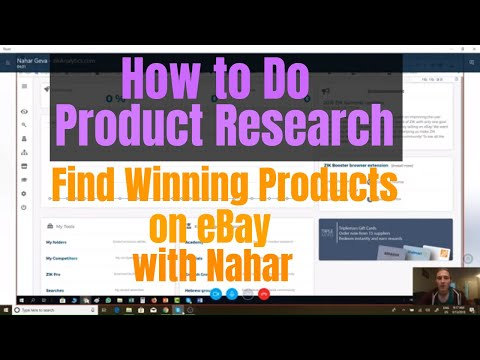 How To Do Ebay Product Research With Zik Analytics With Nahar Youtube