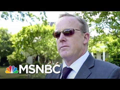 Sean Spicer Believed Anthony Scaramucci Didn't Have The Qualifications | MSNBC
