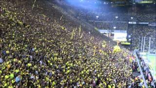 Südtribüne Dortmund - Bremen 2-1 Stimmungs-Video BVB Vs Werder Bremen Bundesliga Westfalenstadion