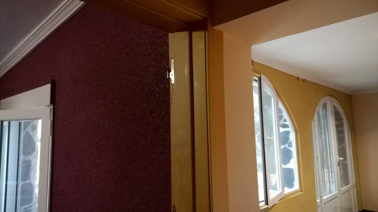 Interior de una vivienda con corcho proyectado spuitkurk for Vivienda interior