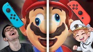 Super Mario Odyssey but Failboat takes half the controller