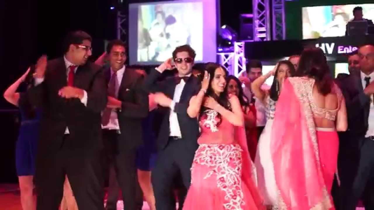 Hv Entertainment Indian Wedding Reception Kyush Esha Youtube