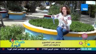 صباح الورد - فقرة مونتيسوري مصر مع مروة رخا - ملخص منهج المونتيسوري وتطبيقه فى المنزل