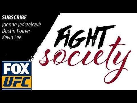 Fight Society Podcast: Joanna Jedrzejczyk, Dustin Poirier and Kevin Lee (5.18.17)