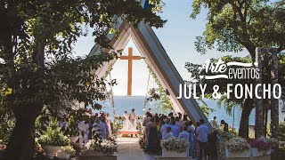 Arte Eventos -  Matrimonio Santa Marta Juli y Poncho - Bodas espectaculares