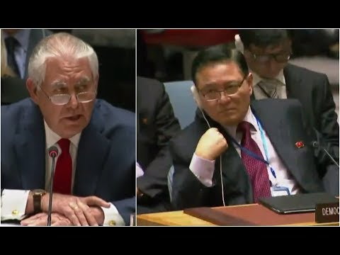 BREAKING: Secretary of State Rex Tillerson SLAMS DPRK Diplomat at RARE UN Appearance