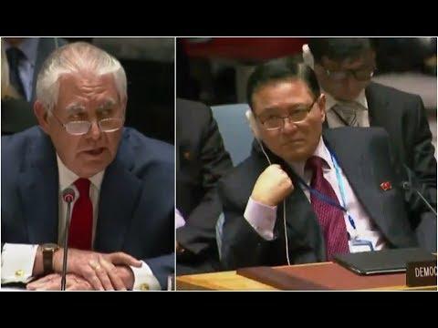 BREAKING: Secretary of State Rex Tillerson SLAMS DPRK Diplomat at RARE UN Appearance