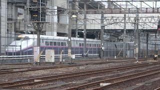 2020/12/03 【出区】E2系J54編成東京新幹線車両センター | JREast: E2 Series Shinkansen J54 Set at Tokyo Depot