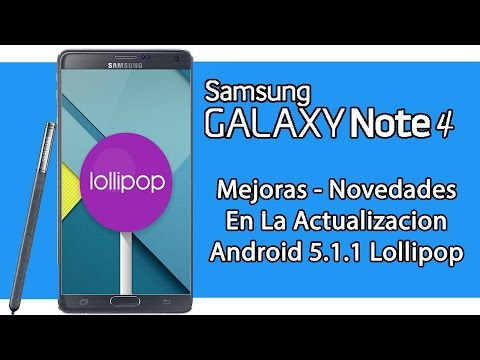 GALAXY Note 4 Review Android 5.1.1 lollipop