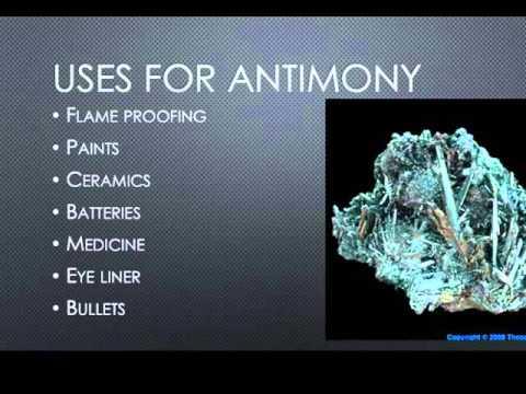 Antimony Uses Medicine