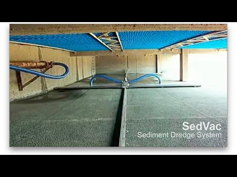 SedVac - Sistema para dragado de sedimentos de Brentwood