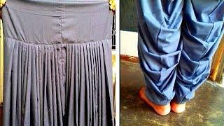 Patiala salwar cutting and stitching | Pariala salwar full tutorial