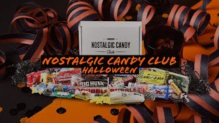 Nostalgic Candy Club: Halloween (S2.E13) - Unboxing & Review