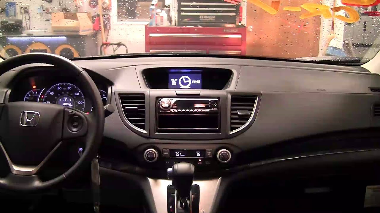 Metra honda crv 2012 up dash kit 95 99 7802ch youtube for Jardin stereo 2015 line up