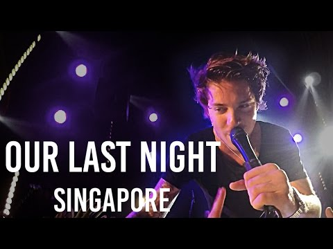 """Skyfall"" Our Last Night: World Tour 2015 LIVE in Singapore 